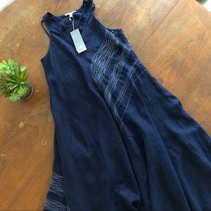 Eileen Fisher Asymmetrical Linen Dress